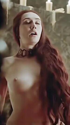 Houten porn van carice Carice Van